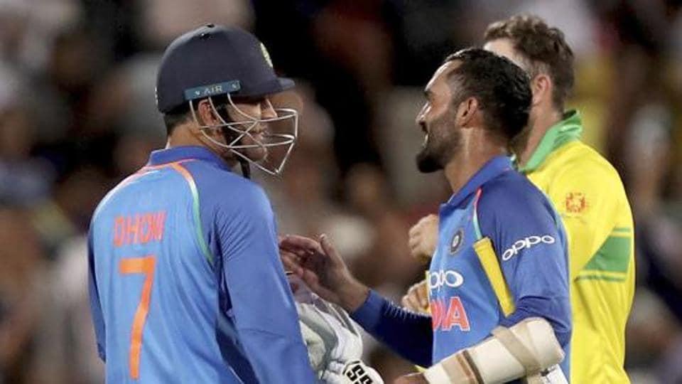Will BCCI retire No.7 jersey with  Dhoni? Dinesh Karthik raises demand