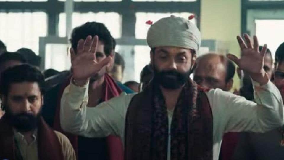 Aashram trailer: Bobby Deol plays a spiritual leader.
