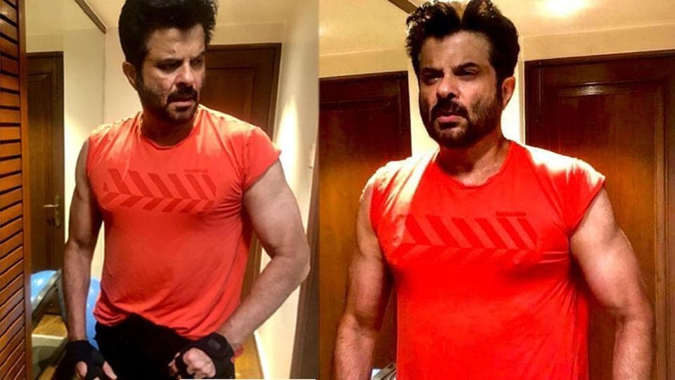 Anil Kapoor flexes biceps in post workout pics, leaves Varun Dhawan and Ishaan Khatter in awe – bollywood