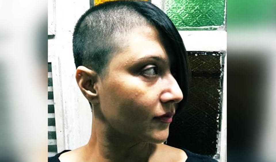 Swastika Mukherjee showed off her new edgy hairdo in a new photo.