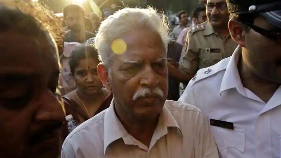 Eighty one-year-old Varavara Rao has been undergoing treatment at the Nanavati Hospital after he tested positive for coronavirus.