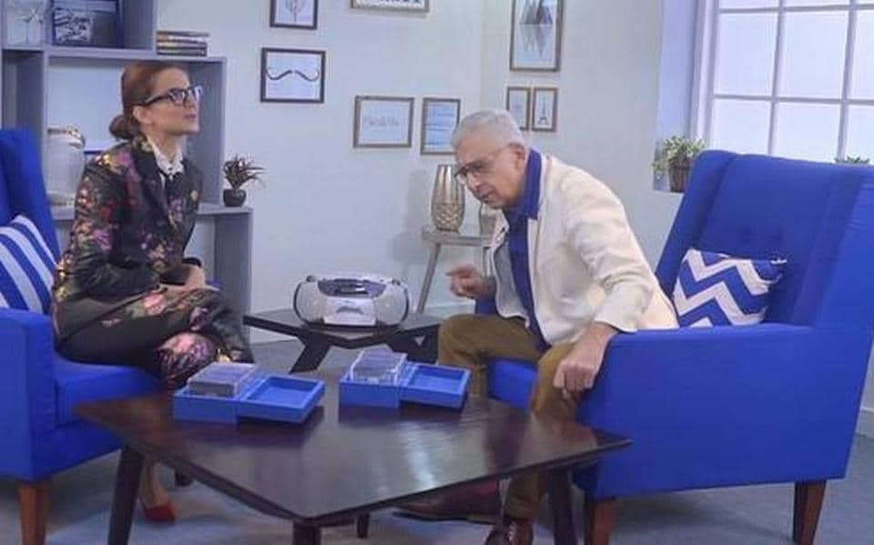 Kangana Ranaut and Naseeruddin Shah appeared together for a 2019 interview.
