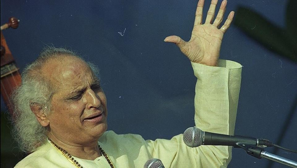 Classical vocalist Pandit Jasraj passed away at the age of 90 on August 17. (Photo by Prakash Singh / HT Archive)