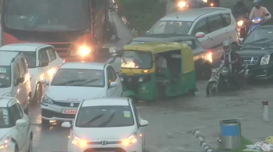 Thunderstorms and moderate to heavy spell of rains are very likely to continue over the entire Delhi and adjoining areas over the next two hours, it said.