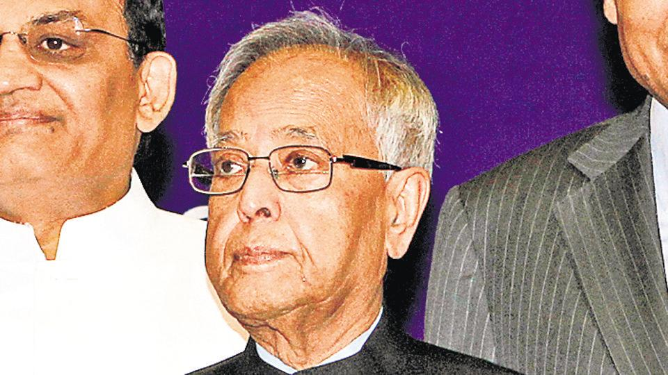 Pranab Mukherjee served as India's 13th president from 2012 to 2017.