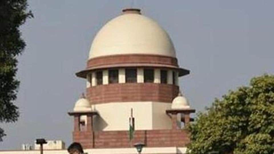 A view of the Supreme Court building