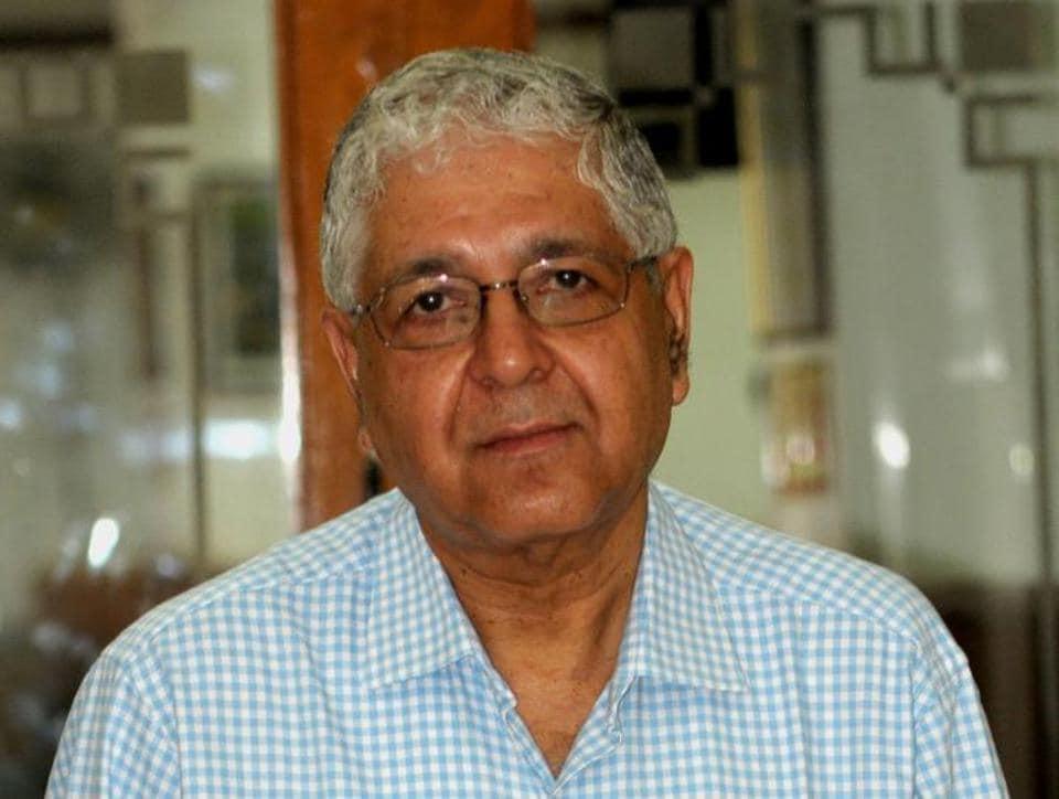 Former PU V-C Arun Kumar Grover.