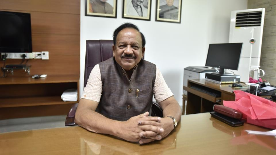 Union health minister Harsh Vardhan says it appears that the spread of Covid-19 has slowed down in Delhi and Mumbai.