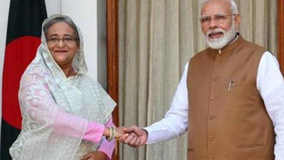 India accords a high priority to friendly relations with Bangladesh as part of its neighbourhood first policy.