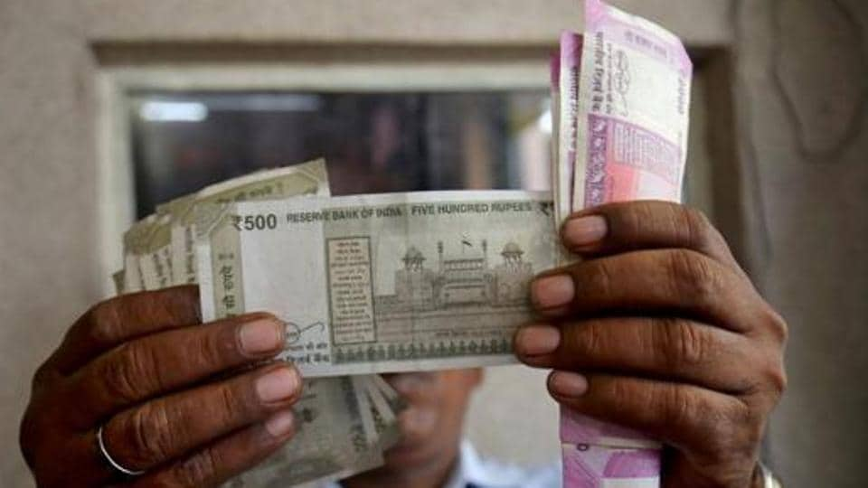 During the session, the Rupee  witnessed an intra-day high of 74.84 and a low of 74.96 against the US dollar.