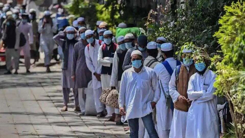 All the foreigners, who petitioned the HC, had participated in Markaz Nizamuddin congregation in Delhi --- an event that emerged as a hot spot of Covid-19 in the early days of the infection in March. (HT Photo)