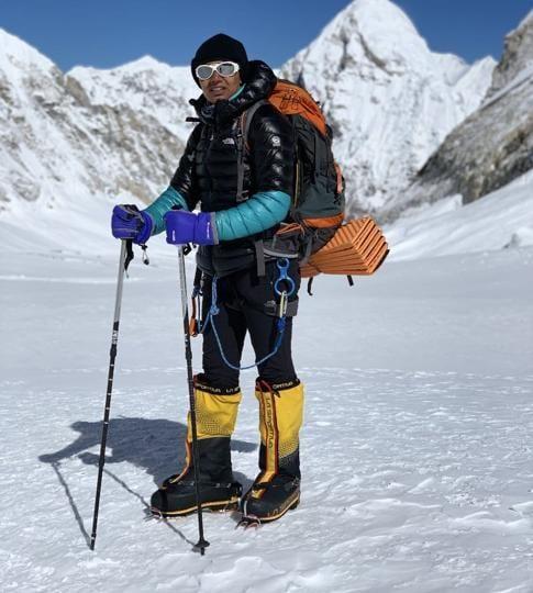Mountaineer Anita Kundu