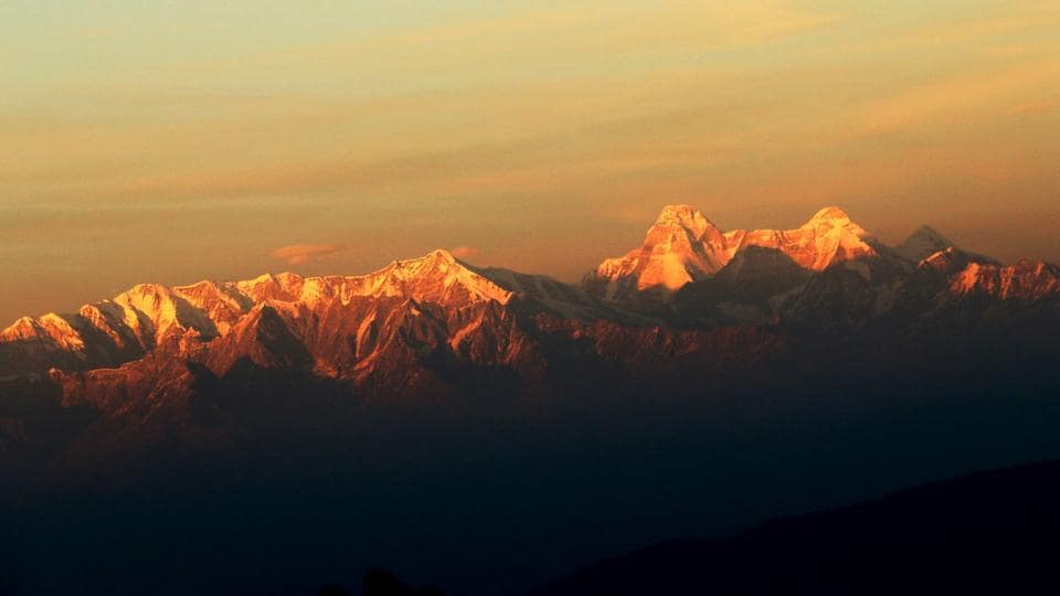 Nanda Devi peak in Uttarakhand was subject of a research on the impact of climate change.