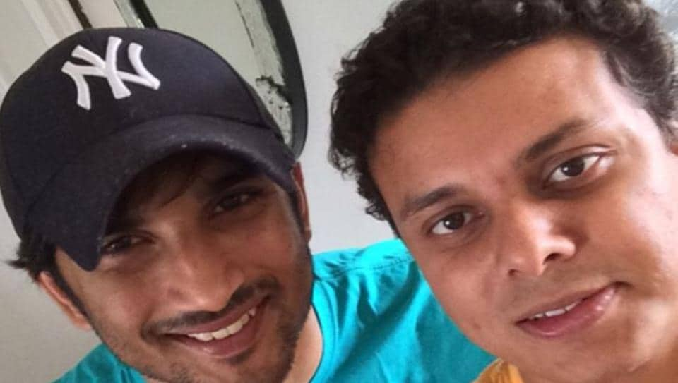 Sushant Singh Rajput with brother-in-law Vishal Singh Kirti.