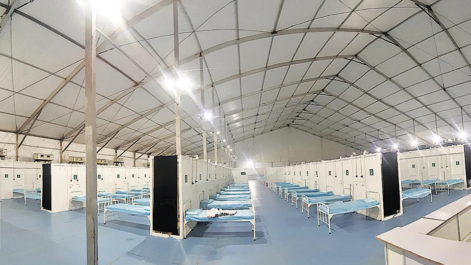 Maharashtra CM inaugurated 800 beds jumbo Covid facility at COEP ground by video conference on Monday.