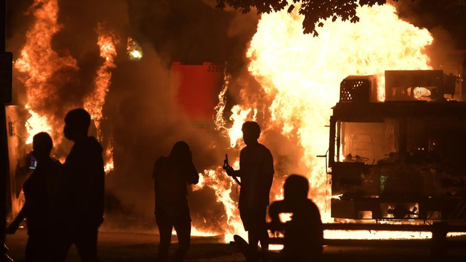 Protests erupted in Kenosha in the hours after the shooting, sparking concerns of more unrest across the country similar to what was seen after the May death of George Floyd while in the custody of Minneapolis police.