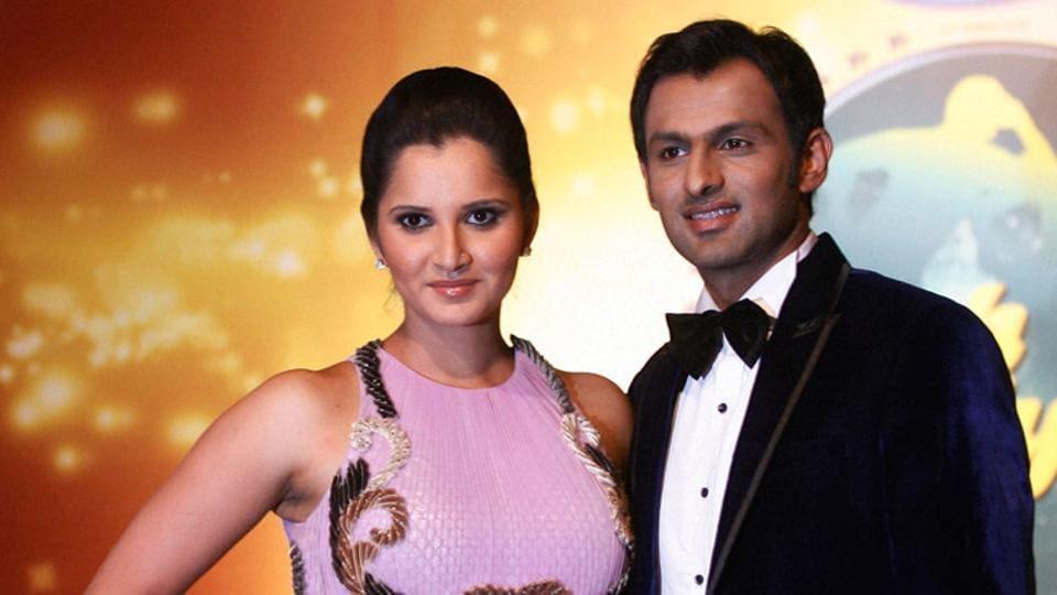 File image of Sania Mirza and Shoaib Malik.