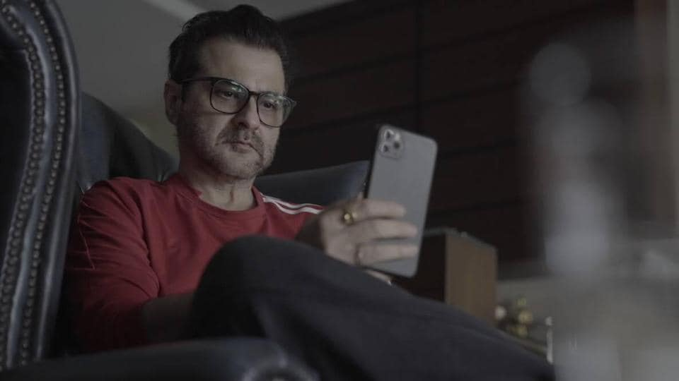 Sanjay Kapoor in a still from The Gone Game.