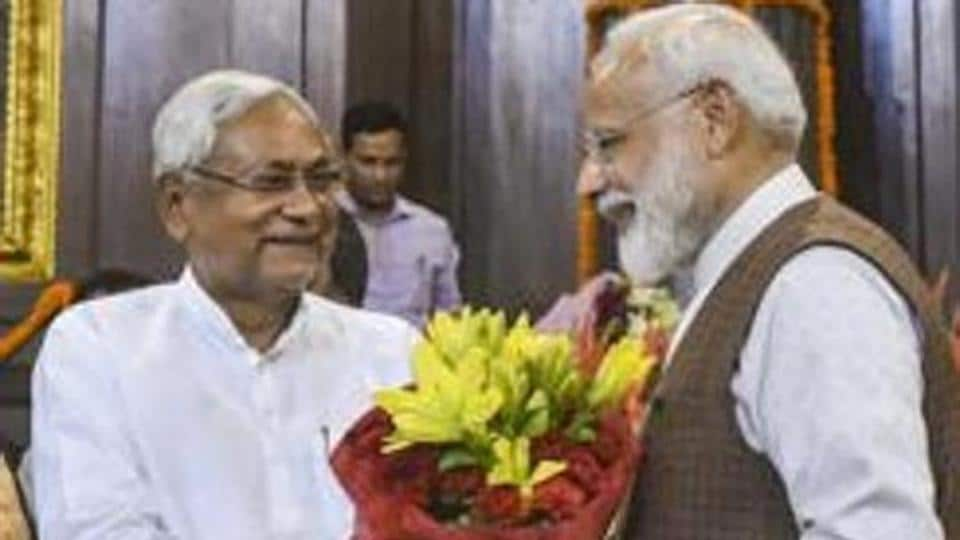 BJP is an ally of Nitish Kumar's JD (U), the LJP in the Bihar government, under the NDA headed by Prime Minister Narendra Modi at the Centre.
