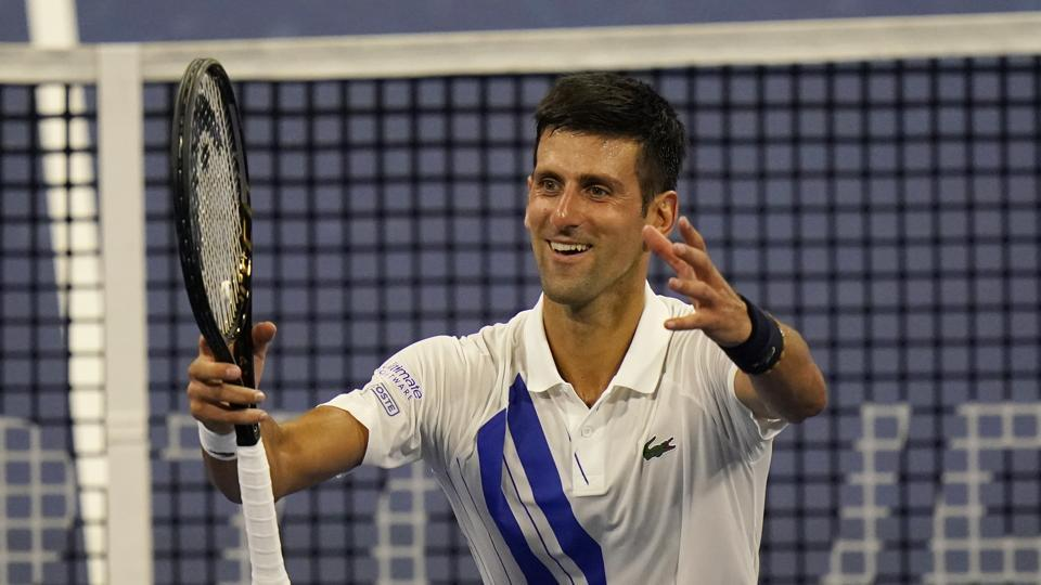 Pain In The Neck Djokovic Gets By In 1st Post Hiatus Match Tennis Hindustan Times