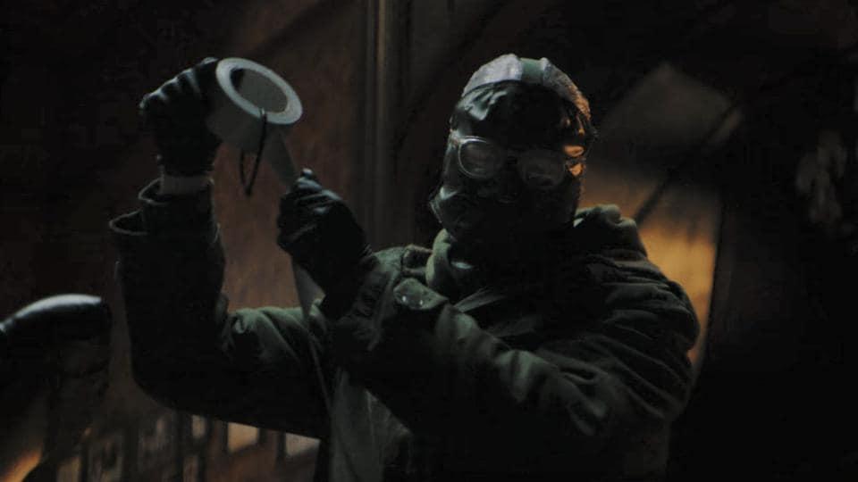 Paul Dano plays The Riddler in the upcoming Batman film.