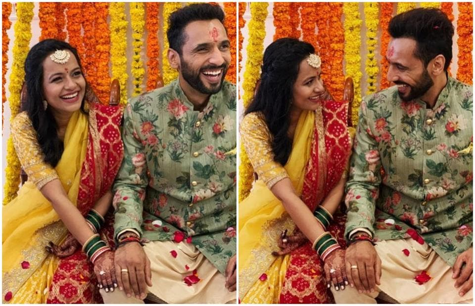 Punit Pathak Gets Engaged To Nidhi Moony Singh Varun Dhawan Showers Love See Pics Hindustan Times He is a fitness enthusiast and goes to the gym regularly. punit pathak gets engaged to nidhi