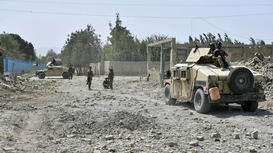 Clashes were ongoing between Afghan and Taliban forces in Bagram, which is located in Parwan province and houses the biggest U.S. military base.