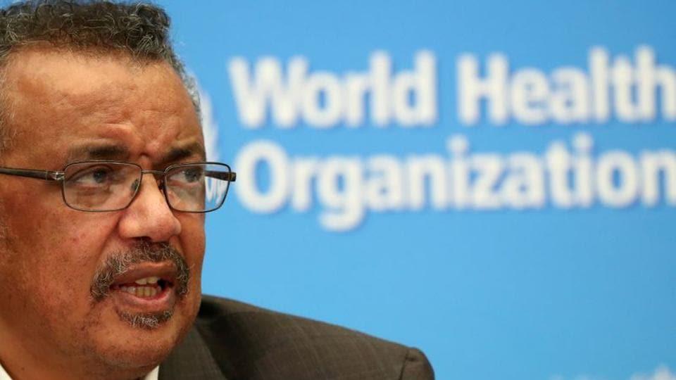 Director-General of the World Health Organization (WHO) Tedros Adhanom Ghebreyesus