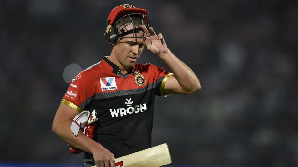 RCB batsman AB de Villiers
