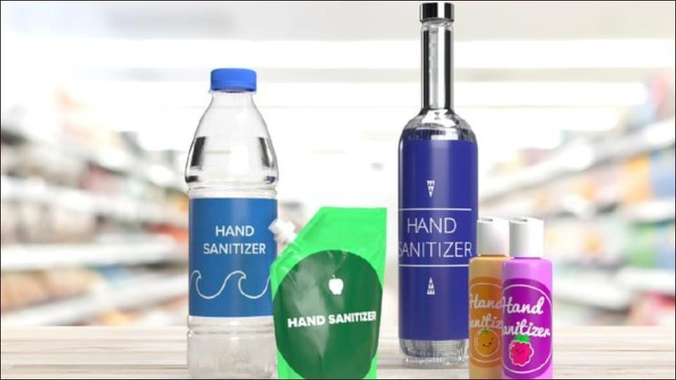 FDA warns against hand sanitizers looking like drinks sold the in US