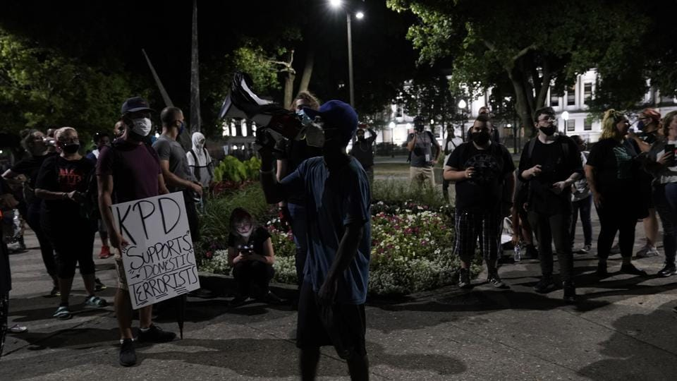 The shooting of Blake Sunday night reignited protests in several US cities over the police killings of Black men.