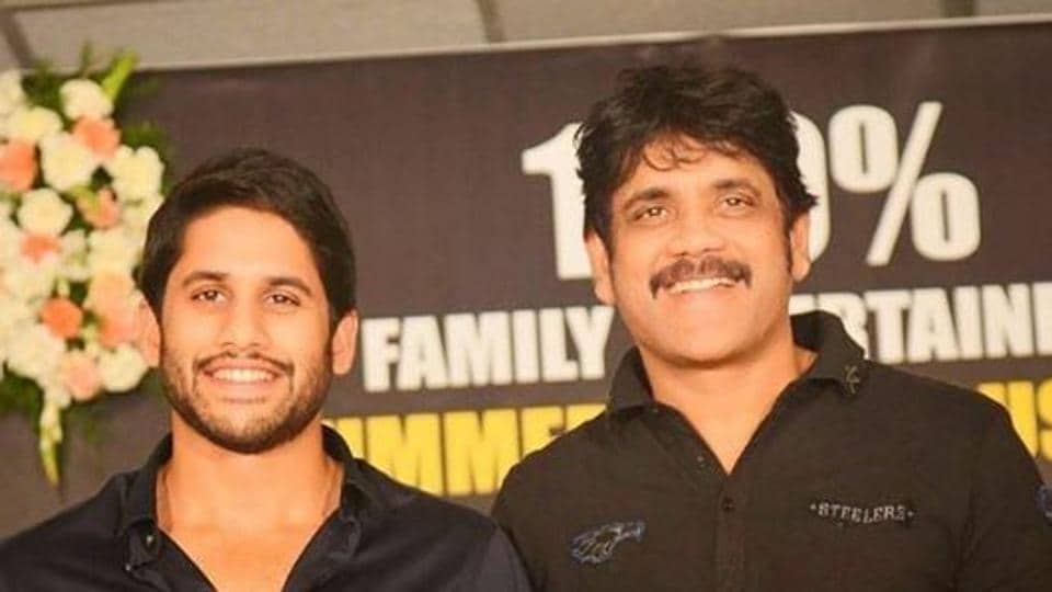 Naga Chaitanya, his father Nagarjuna and his grandfather late A Nageswar Rao worked together in a hit film called Manam.