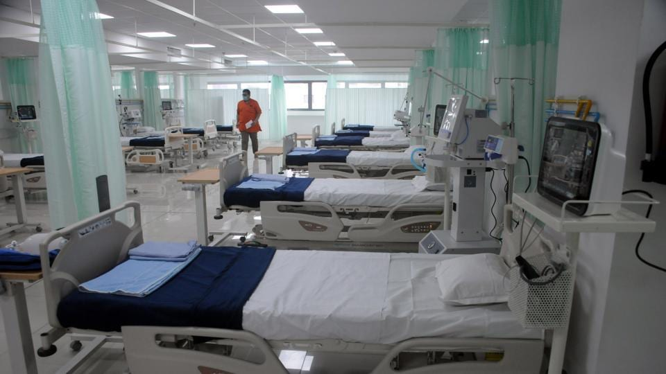 Dedicated Covid-19 hospital at Baner in Pune, India, on Friday, August 28, 2020.