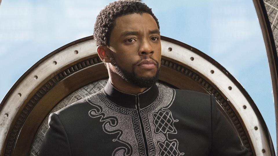 Chadwick Boseman as Black Panther. The actor has died at the age of 43.
