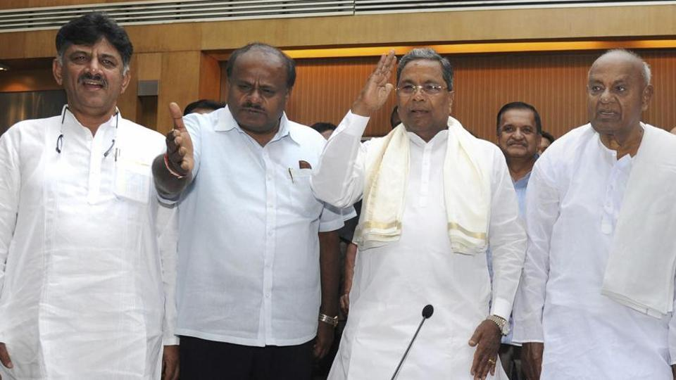 Former chief ministers Siddaramaiah and HD Kumaraswamy both have taken a hard stance in Belgavi statue row.