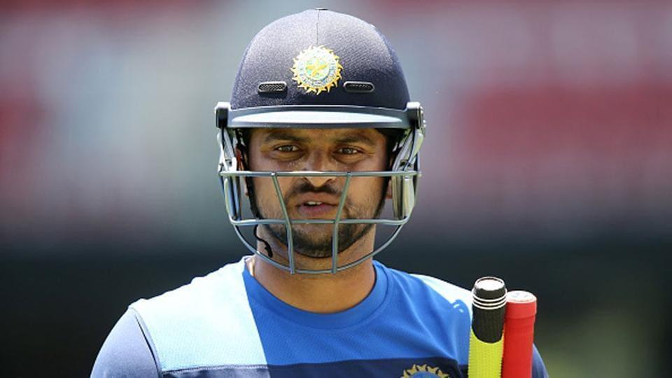 Suresh Raina on Saturday left the UAEfor home.