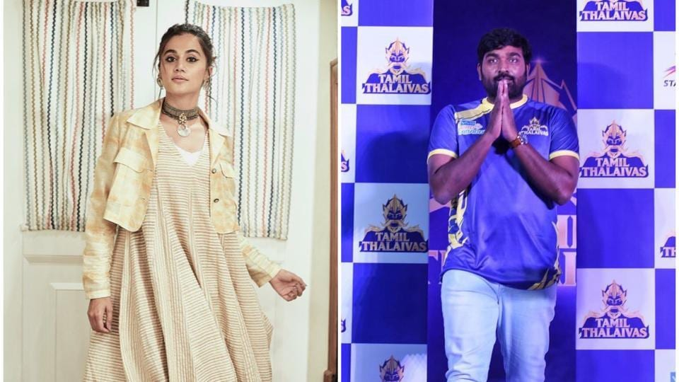 Taapsee Pannu to team up with Vijay Sethupathi for the first time in Tamil comedy