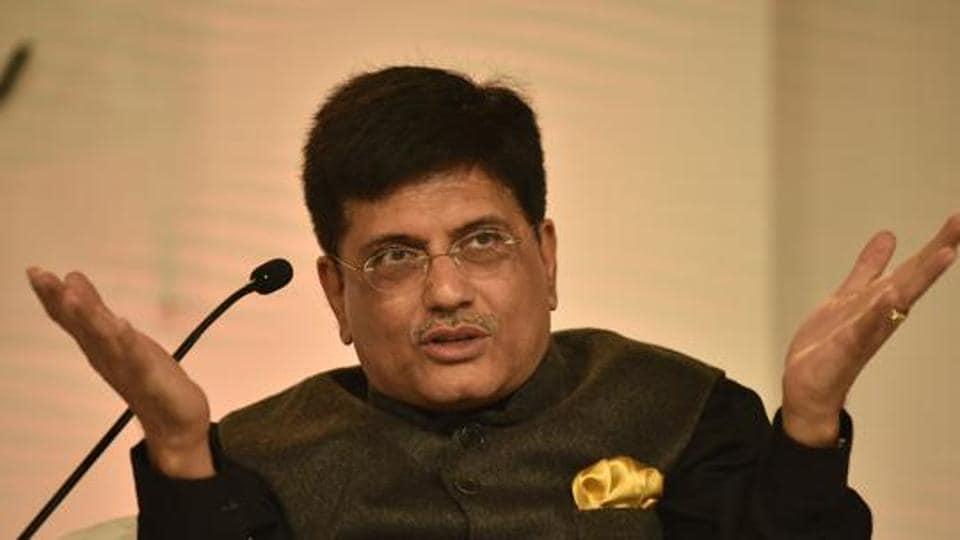 File photo: Union minister Piyush Goyal.
