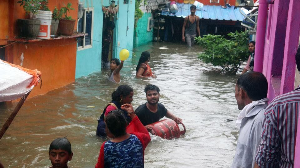 The chief minister said that floods have caused devastation in more than 394 villages in nine districts of Madhya Pradesh and over 7,000 people have been rescued so far.