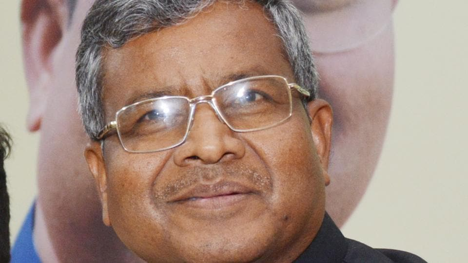 The JD(U)'s offer of  swapping seats came after former Chief Minister Babulal  Maramndi's  (above)  reported reluctance to fight from Dumka assembly seat which fell vacant as incumbent CM Hemant Soren  vacated it.