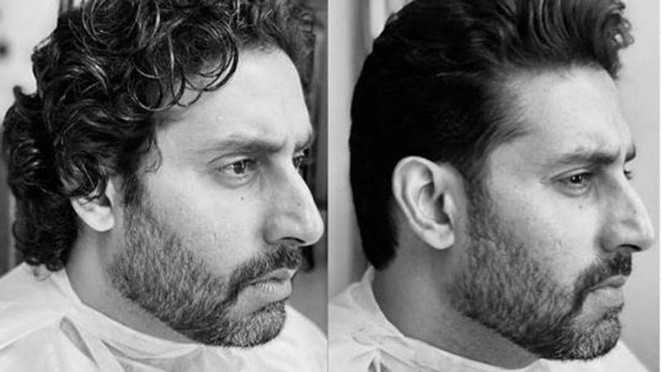 Abhishek Bachchan shares before and after pictures of his haircut as he returns to work, Hrithik Roshan... - Hindustan Times