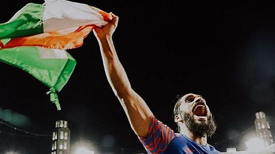 Sandesh Jhingan is the twenty seventh Indian footballer to win  the Arjuna Award.