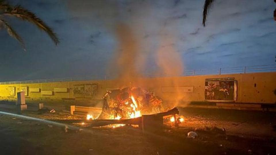 Rockets fall near Baghdad airport, no casualties