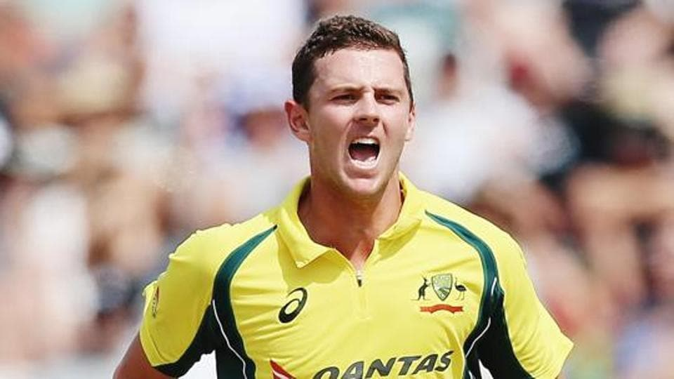 File photo of Josh Hazlewood of Australia.