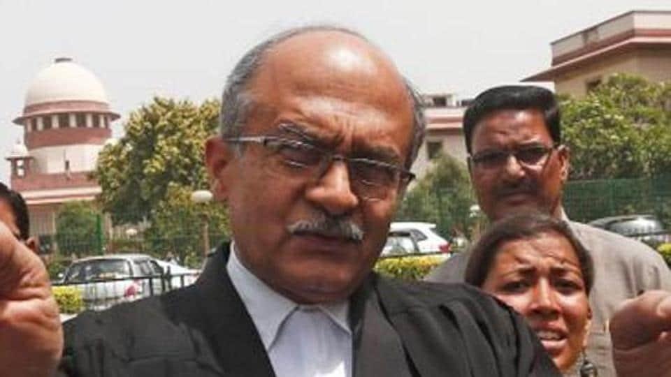 Prashant Bhushan.