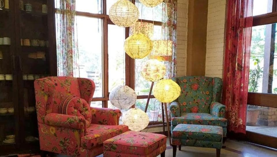 Opt for lightweight, printed curtains in cotton or linen for an easy-breezy effect.