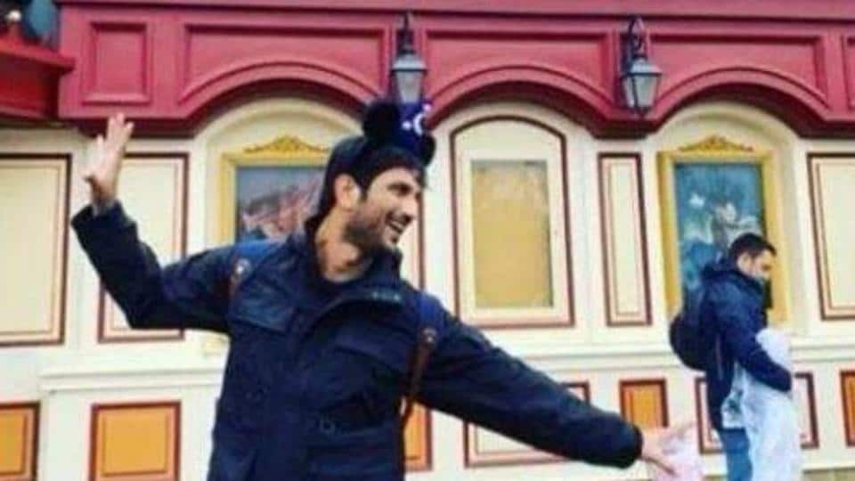 Sushant Singh Rajput in Paris, in a previously shared picture.