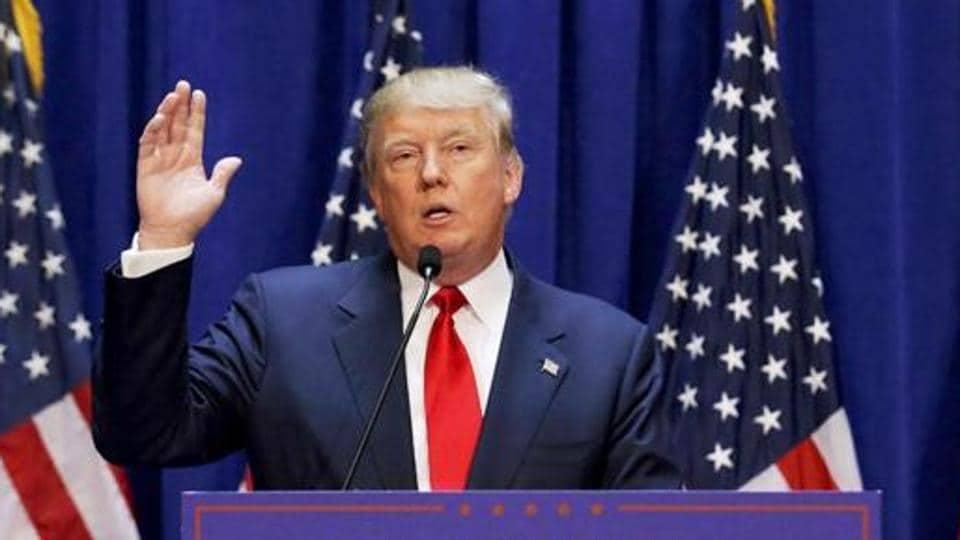 US President Trump defends police, slams protests as 'domestic terror'