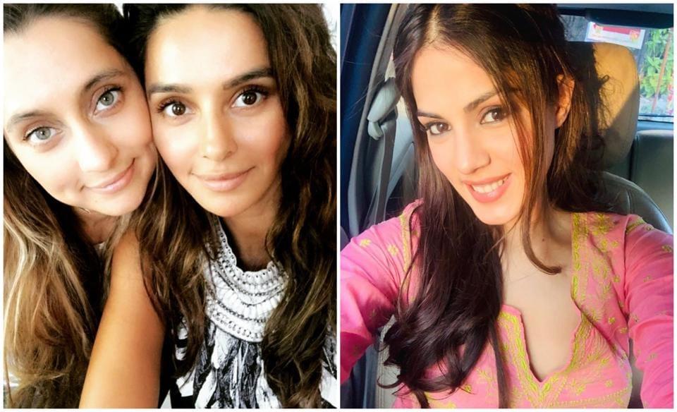 Shibani Dandekar and her sister, Anusha Dandekar, are seeking 'justice for Rhea Chakraborty'.