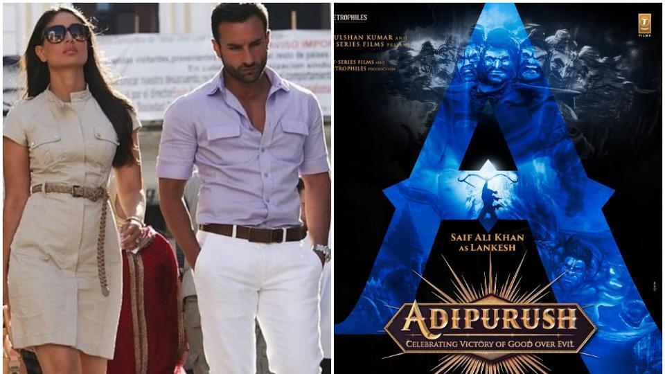 Saif Ali Khan will play a character called Lankesh in Adipurush.